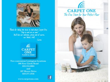 Carpet One Ad Design