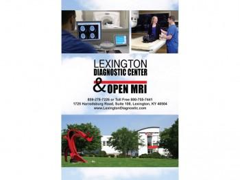 Lexington Diagnostic Center and Open MRI Booklet Cover