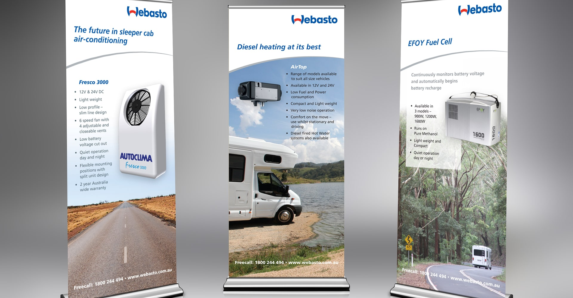 Retractable Banner Stands Prototype Graphics Kentucky and Florida